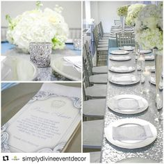 #Repost @simplydivineeventdecor with @repostapp  Guest's table details Silver chiavari chairs by @johnnyjohn38  Picture by @1alec #simplydivineeventdecor #desderts #desserttable #dessertstation #festa #events #eventplanner #ny #nyc #nycplanner #EncontrandoIdéias #popular #delicate #royalty #festainfantil #prince #royal #regal #decor #decoration #eventdecor #eventstyling#babyshower #babyboy #details #sweets #desserttable #dessertporn #caketable
