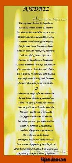 Ajedrez – Jorge Luis Borges