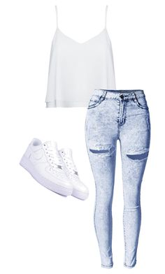 """"""".//.//...././//"""" by anna-mae-equils on Polyvore featuring Alice + Olivia and NIKE"""
