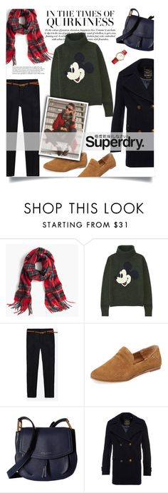 """""""The Cover Up – Jackets by Superdry: Contest Entry"""" by luckyiminlove ❤ liked on Polyvore featuring J.Crew, Uniqlo, Dolce Vita, Marc Jacobs, Superdry and Tommy Hilfiger"""