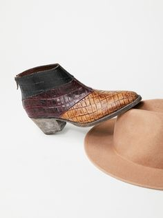 Mixed Tape Western Boot