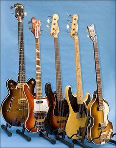 Vintage basses