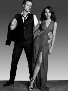 President Grant and Olivia Pope    On SCANDAL  Season 5