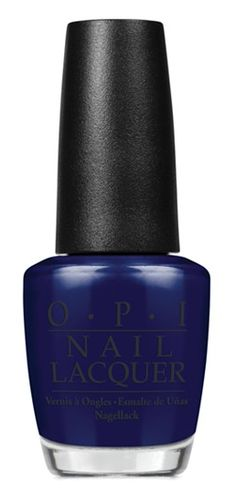 I love how unique and elegant OPI's Russian Navy looks on nails! The deep indigo color pairs well with formal dresses.