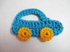Carro – Coche crochet (ganchillo) - YouTube