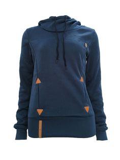 Women's Hoodies Embroidered Hooded Workout Sweatshirt