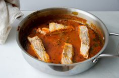 recipe for spicy tunisian fish stew with a stellar recommendation to back it