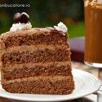 Romanian Desserts, Romanian Food, Romanian Recipes, Tiramisu Cheesecake, Frappe, Coffee Cake, Mochi, Vanilla Cake, Baked Goods