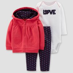 9b7a5b30cf30 Teach your daughter that all she needs is love with the Baby Girls  Hearts 3