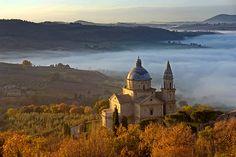 San Biagio in Montepulciano, Tuscany, Italy - Photo by Giuseppe Toscano.