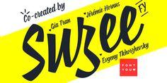 Suzee FY - Webfont & Desktop font « MyFonts
