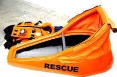 A life jacket that turns into a raft?