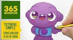 Resultado de imagen para imagenes de 365bocetos kawaii Kawaii Drawings, Cute Drawings, Kawaii Doodles, Cute Disney, Character Concept, Smurfs, Chibi, Diy And Crafts, Sketches