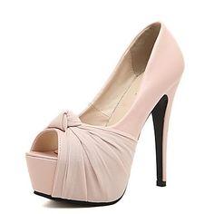 ... Shoes Leatherette Spring Summer Fall Stiletto Heel For Dress Party    Evening Almond Black Pink. BombasVestidoTacones De AgujaTalones AltosZapatos  ... 7360c7daffd0