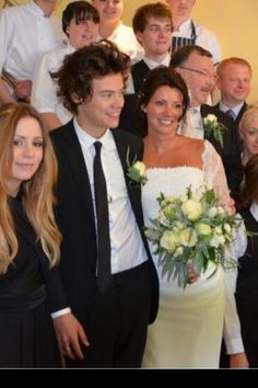 apparently Harry walked Anne down the aisle (i am quietly dying in a corner right now.)