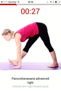 Need a #yoga app to help practice at home?  Perfect solution - clear, modern, beautiful and exceptional value for money