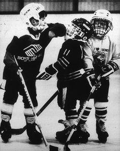 Photo Title Pee Wee Hockey Photographer/Creator Paul Brown