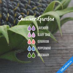 Summer Garden - Essential Oil Diffuser Blend