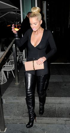 Helen Flanagan 15   by Celebrities in High Boots