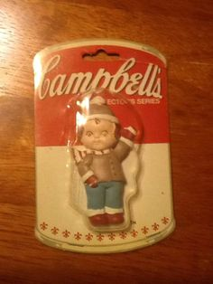 CAMPBELL'S 1990 SOUPER KIDS COLLECTORS SERIES, vintage, trademarked