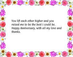 Mom dad anniversary quotes
