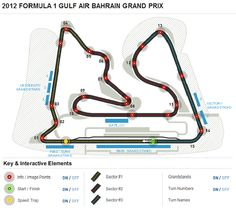 2012 FORMULA 1 GULF AIR BAHRAIN GRAND PRIX