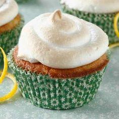 Cupcakes de Merengue y limón - Recetas de cupcakes fáciles