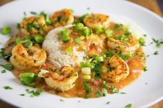 If you're celebrating Mardi Gras or just want to bring a taste of Louisiana into your house try my easy to make Shrimp Etouffee!