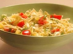 Lemon & Basil Pasta Salad/ this would be great with lemon or Lime Basil