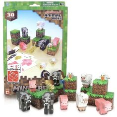 Black Friday 2014 Overworld Animal Mobs Pack: Minecraft Papercraft Kit Series [~30 Pieces] from Unknown Cyber Monday