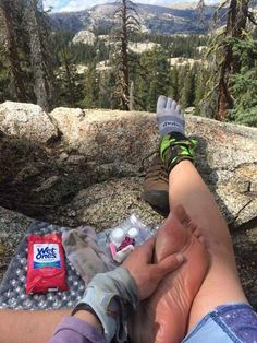 Taking care of your feet on the trail