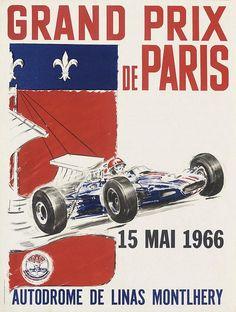 Grand Prix de Paris - Autodrome de Linas Montlhery - 1966 -