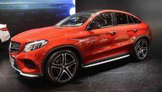 2016 Mercedes-Benz GLE Coupe - exterior design