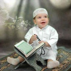 Cute and Funny Muslim Children