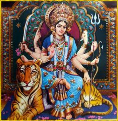 Receive Nine-Fold Blessings from Powerful Forms of Goddess Durga on Auspicious Ugadi.