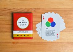 This is something that I could see being used to create a deck of mindfulness; The Design Deck by Ben Barrett-Forrest History Of Typography, Typography Design, Additive Color, Designers Gráficos, Graphic Designers, Design Movements, Deck Design, Grafik Design, Deck Of Cards