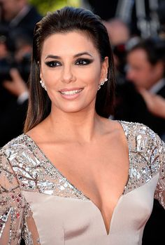 Actress Eva Longoria attends the Premiere of 'Inside Out' during the 68th annual Cannes Film Festival on May 18, 2015 in Cannes, France. (Photo by Pascal Le Segretain/Getty Images)