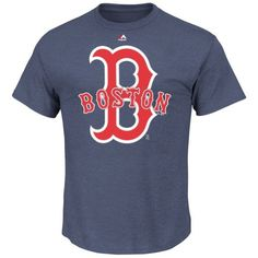 fe7cebc7d Amazon.com   Boston Red Sox Men s Heather Navy Run Producer T Shirt by  Majestic (XX-Large)   Sports   Outdoors