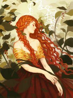 Ophelia by JanainaArt on DeviantArt