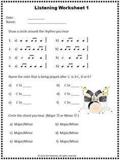 AURAL DEVELOPMENT ACTIVITIES FOR YOUNG MUSICIANS  - Excellent product. Used every sheet!!