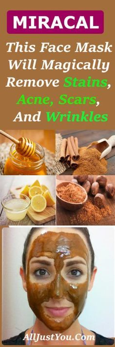 This Face Mask Will Magically Remove Stains, Acne Scars, And Wrinkles After Just Seconds Of Use! #scar #beauty #acne #wrinkles #health #face #mask