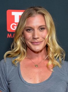 Katee Sackoff attends the TV Guide Hot Issue Party. #Hair by Kylee Heath.