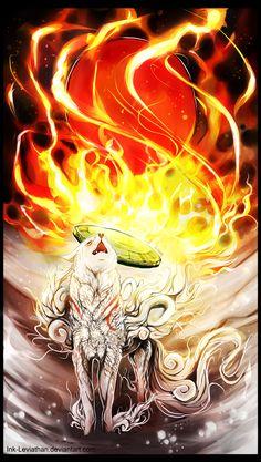 PC: Zodrow15 - Okami Amaterasu by Ink-Leviathan.deviantart.com on @DeviantArt