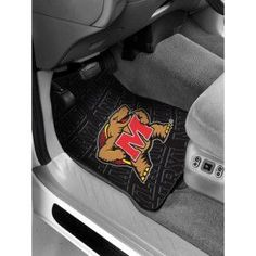 "Maryland Terps NCAA Car Front Floor Mats (2 Front) (17""x 25"")"
