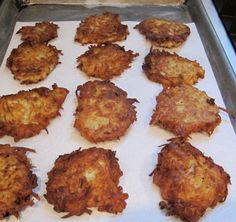 Chanukah or Hanukkah latkes