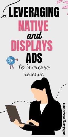 Learn the benefits of adding native and displays ads in your e-commerce marketing strategy to make money! #nativeads #nativeadsadvertising #nativeadsdesign #ads #displayads #displayadvertising