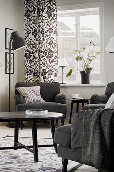 Create a living room you love to relax in! The IKEA STOCKSUND chair is an extra wide and deep armchair with plenty of room for you to sit and relax comfortably.