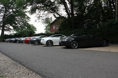 10 x Aston Martin  http://www.aston-martin.com/2012/08/06/ten-astons-at-power-beauty-soulmates-meeting-in-the-netherlands/