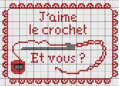 couturière - dressmaker - crochet - point de croix - cross stitch - Blog : http://broderiemimie44.canalblog.com/