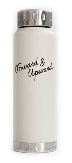 Onward and upward water bottle. Love this for a good friend who needs a little extra love